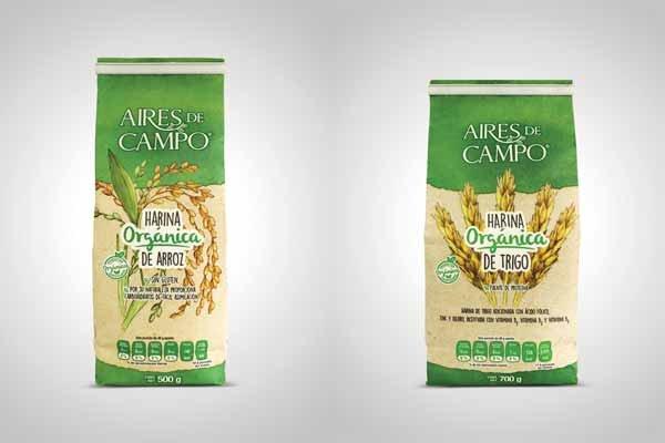 Aires de Campo lanza nueva línea de harinas orgánicas fortificadas