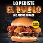 El Diablo Big Angus Burger