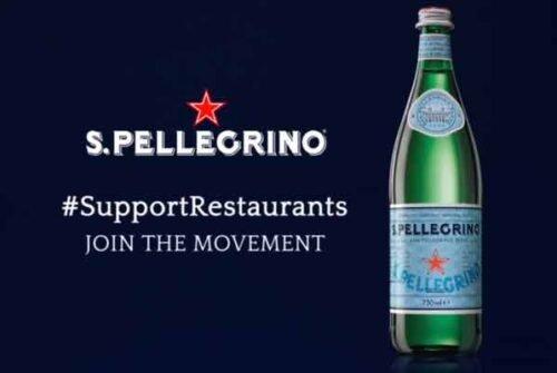 S.Pellegrino y Perrier mantienen apoyo al sector de restaurantes y bares