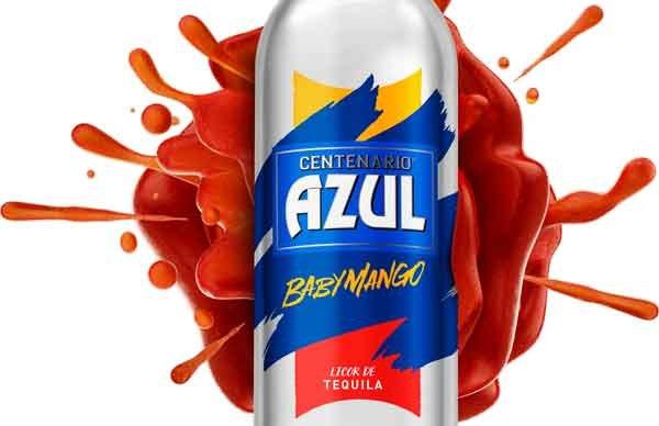 Tequila Azul Centenario BabyMango, el tequila saborizado