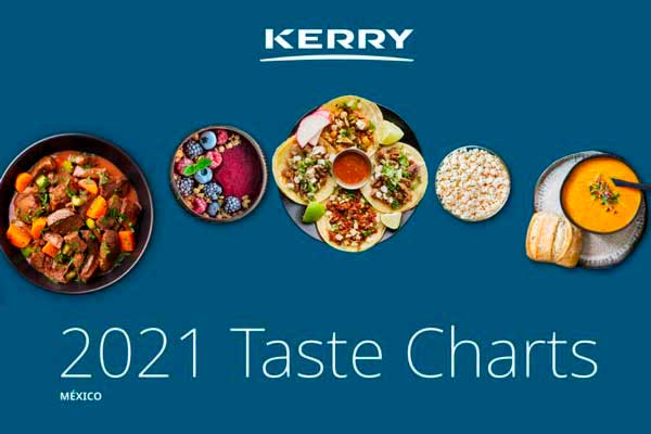 Kerry publica tendencias de sabores e ingredientes para 2021