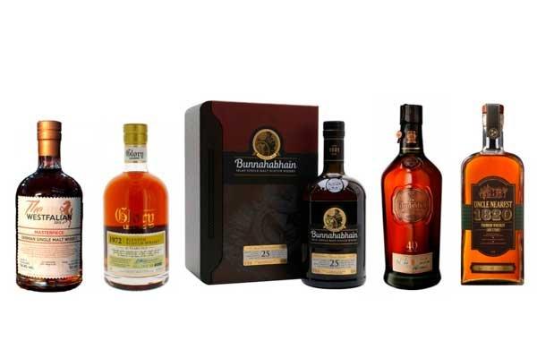 Los 5 mejores whiskies del mundo en 2020 según la IWSC