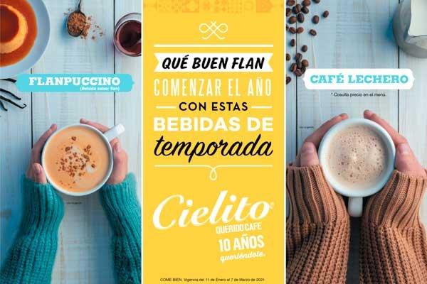 Nuevo Flanpuccino para apapacharnos en Cielito Querido Café