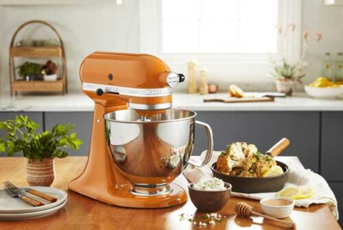 KitchenAid revela a Honey como el color del 2021